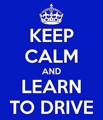 Keep Calm learn to drive